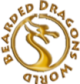 bearded dragons world logo