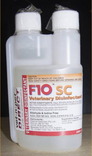 disinfectant for bearded dragons cage